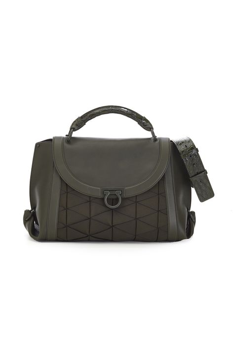 P This Understated Tote Is Proof You Can Never Have Too Many Sleek Saddle