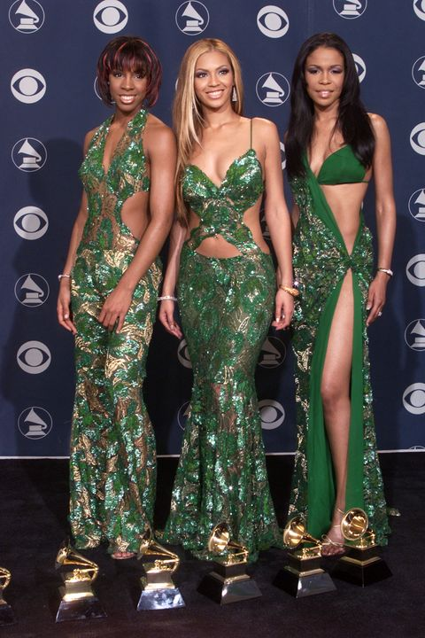 """<p>When your whole squad dresses up like Eve in the Garden of Eden.</p>""""/></figure>    <p>The girl group Destiny's Child wore an Eve in the Garden inspired look.</p>    <p></p>    <h2>9. Nicki Minaj</h2>    <figure class="""