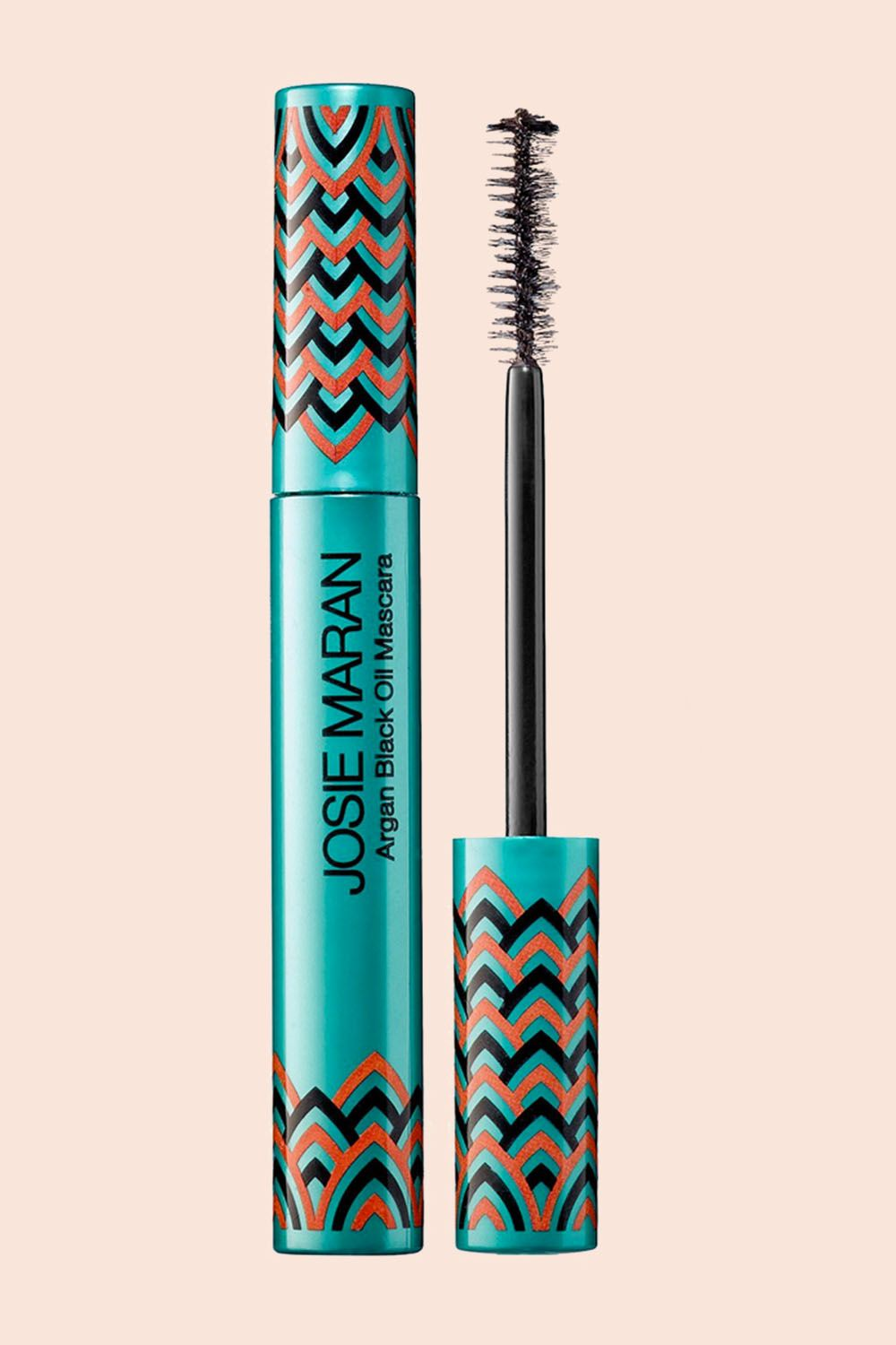 """<p>Argan, AKA liquid gold, is the essential oil women look to tomake their lashes grow. In this treatment, Maran mixes 100% pure argan oil, ultra-black iron mineral pigments, andbamboo properties together to strengthen lashes while givingyou the doe-eyed look.</p><p><br></p><p>Josie Maran Argan Black Oil Mascara, $22; <a href=""""http://bit.ly/2iJgVV4"""" target=""""_blank"""" data-tracking-id=""""recirc-text-link"""">sephora.com</a>.</p>"""