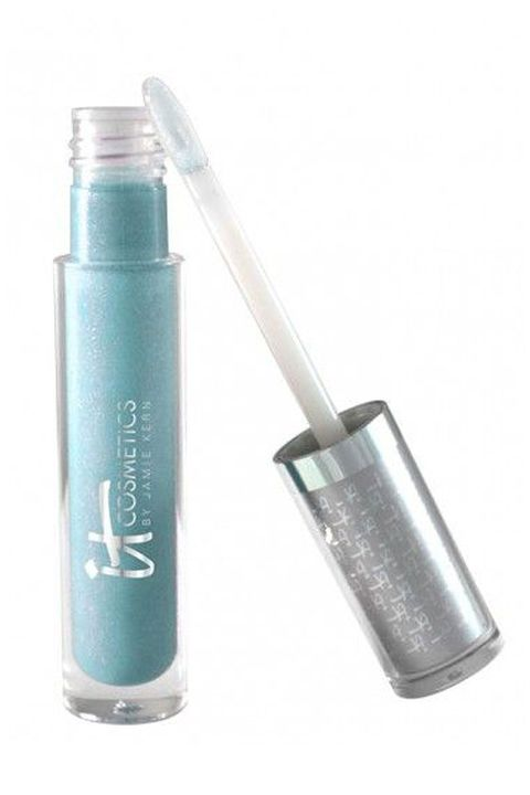 "<p>Like a serum, this powder blue formula is packed with nourishing shea butter&nbsp;and oils, like plum and cherry, that'll keep your lips hydrated and protected while delivering high shine.</p><p>It Cosmetics News Anchor Blue Vitality Lip Flush Butter Gloss, $24; <a href=""http://bit.ly/2j5gXGU"" target=""_blank"" data-tracking-id=""recirc-text-link"">ulta.com</a>.<br></p>"