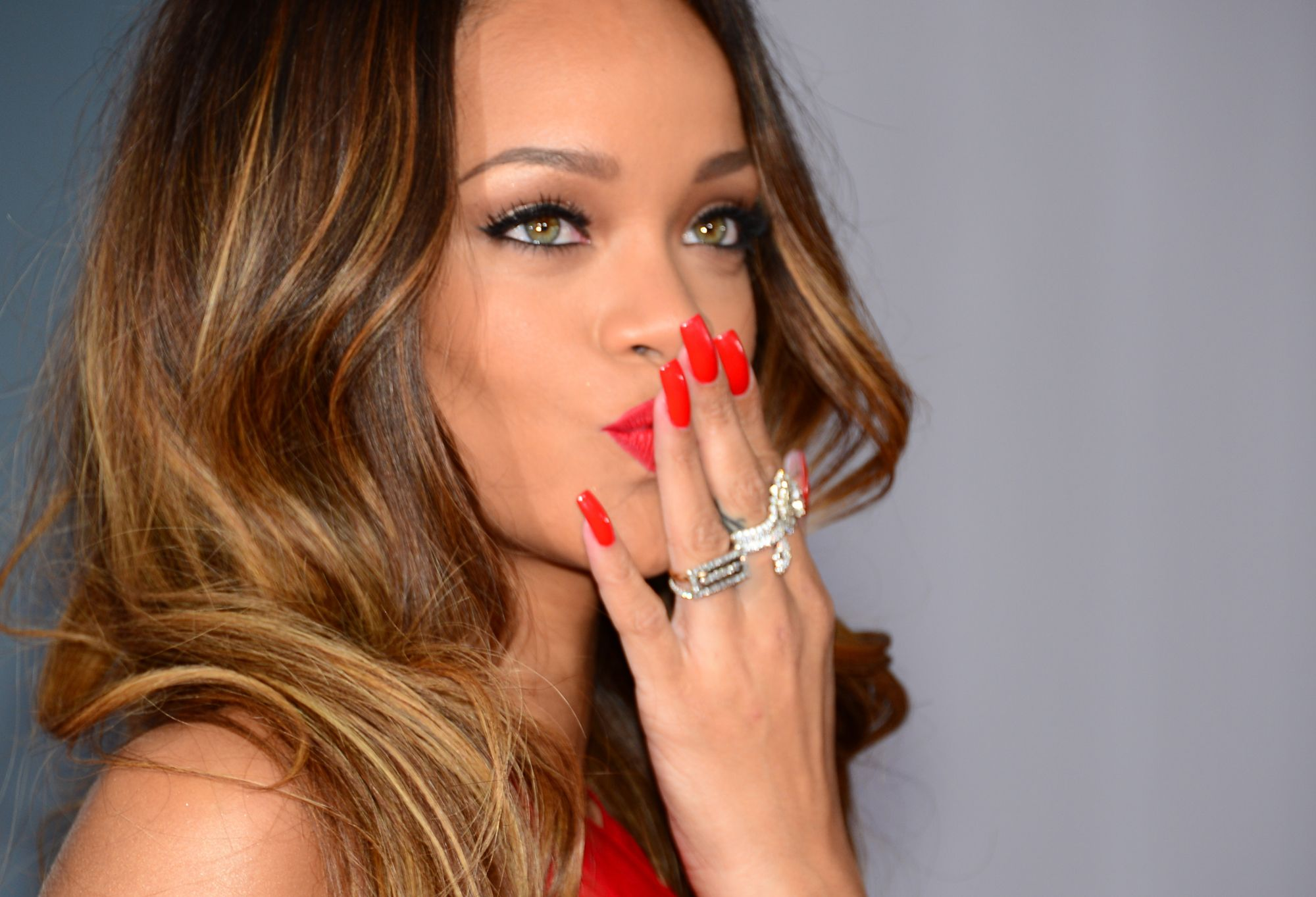 Celebrity Red Nails | Best Nail Designs 2018