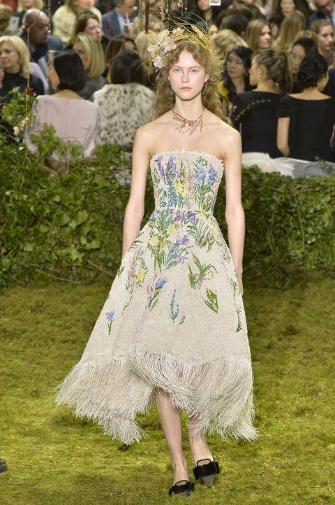 "<p>          Models fit seamlessly into the fairy tale garden that was the Christian Dior show.  <span class=""redactor-invisible-space"" data-verified=""redactor"" data-redactor-tag=""span"" data-redactor-class=""redactor-invisible-space""></span></p>"