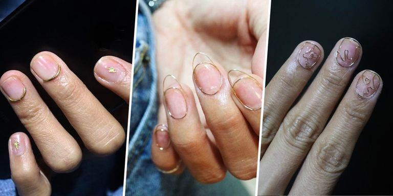 Wire nails trend wire nail art no more chipped polish were in prinsesfo Images