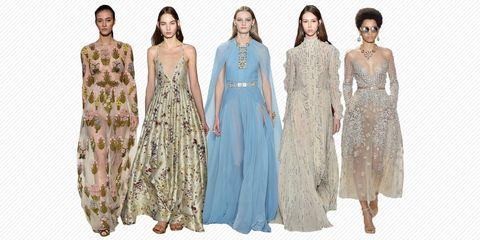 Clothing, Dress, Sleeve, Textile, One-piece garment, Pattern, Style, Formal wear, Waist, Day dress,