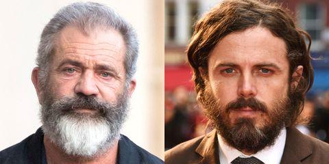 Mel Gibson and Casey Affleck