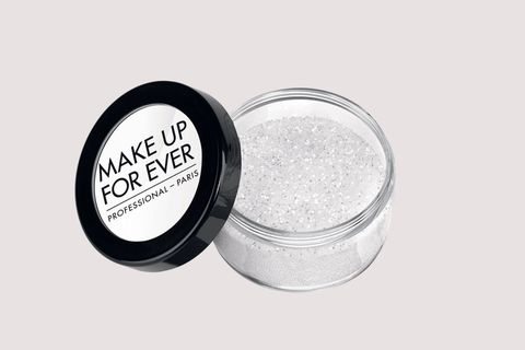 """<p>These super-fine particles can be worn alone or layered over an eyeshadow.</p><p>Make Up For Ever Glitters<span class=""""redactor-invisible-space"""" data-verified=""""redactor"""" data-redactor-tag=""""span"""" data-redactor-class=""""redactor-invisible-space"""">, $15&#x3B; <a href=""""http://bit.ly/2l6hnho"""" target=""""_blank"""" data-tracking-id=""""recirc-text-link"""">sephora.com</a>.</span></p>"""