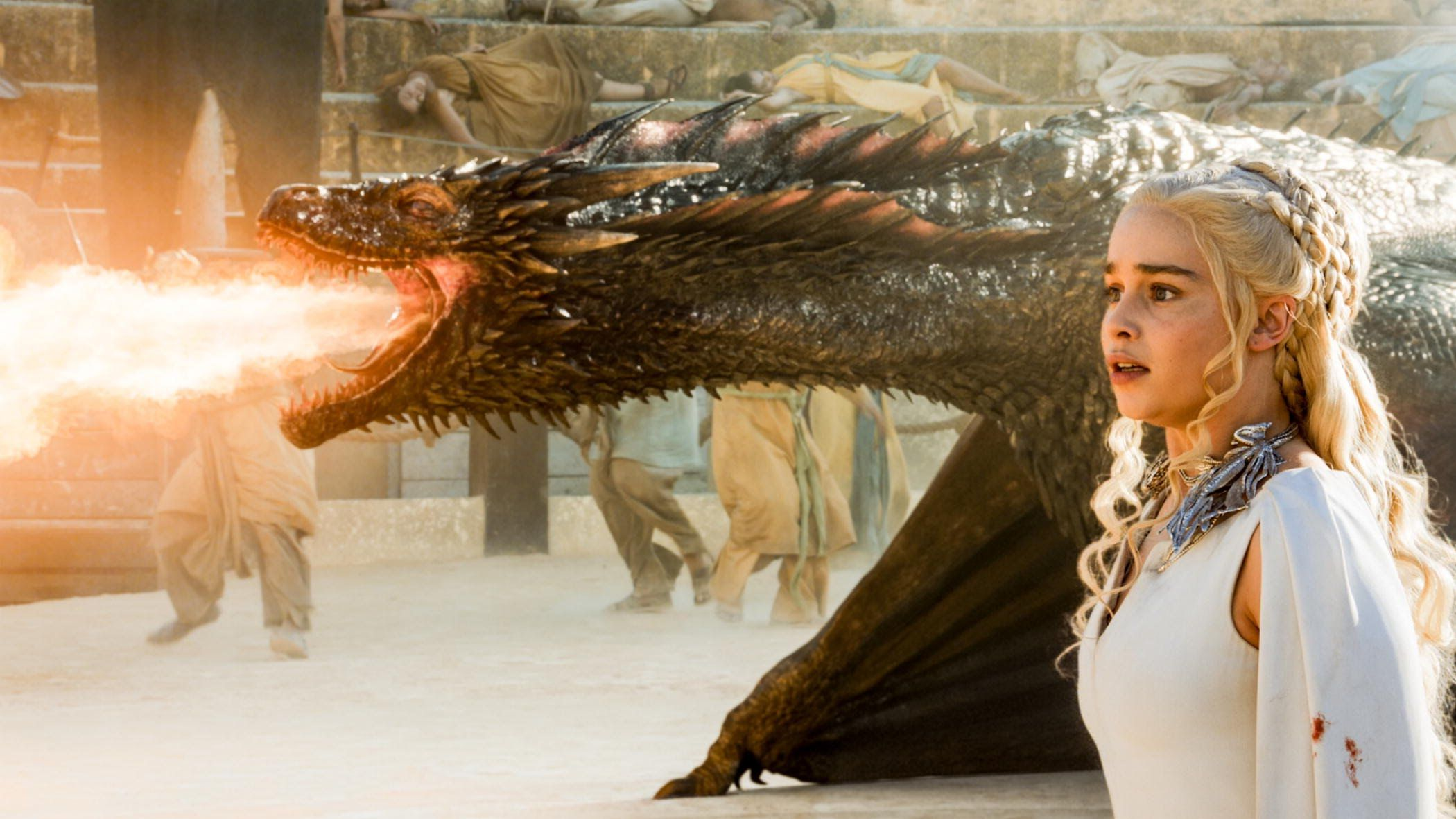You Absolutely Need This 'Game of Thrones'-Inspired Fire-Breathing Dragon Lamp From Etsy