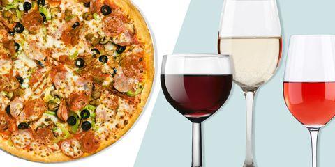 Stemware, Drinkware, Glass, Wine glass, Barware, Drink, Food, Pizza, Cuisine, Ingredient,