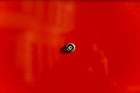 Red, Orange, Water, Macro photography, Drop, Circle,