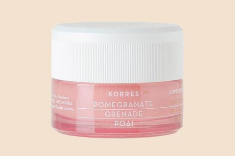 "<p> We're obsessed with this super-light, creamy-gel formula's pore-shrinking powers and chic pink packaging.&nbsp;</p><p><span class=""redactor-invisible-space"" data-verified=""redactor"" data-redactor-tag=""span"" data-redactor-class=""redactor-invisible-space""> Korres Pomegranate Balancing Cream-Gel Moisturizer, $34; <a href=""http://bit.ly/2kLDz3N"" target=""_blank"" data-tracking-id=""recirc-text-link"">sephora.com</a>.<span class=""redactor-invisible-space"" data-verified=""redactor"" data-redactor-tag=""span"" data-redactor-class=""redactor-invisible-space""></span><br></span></p>"