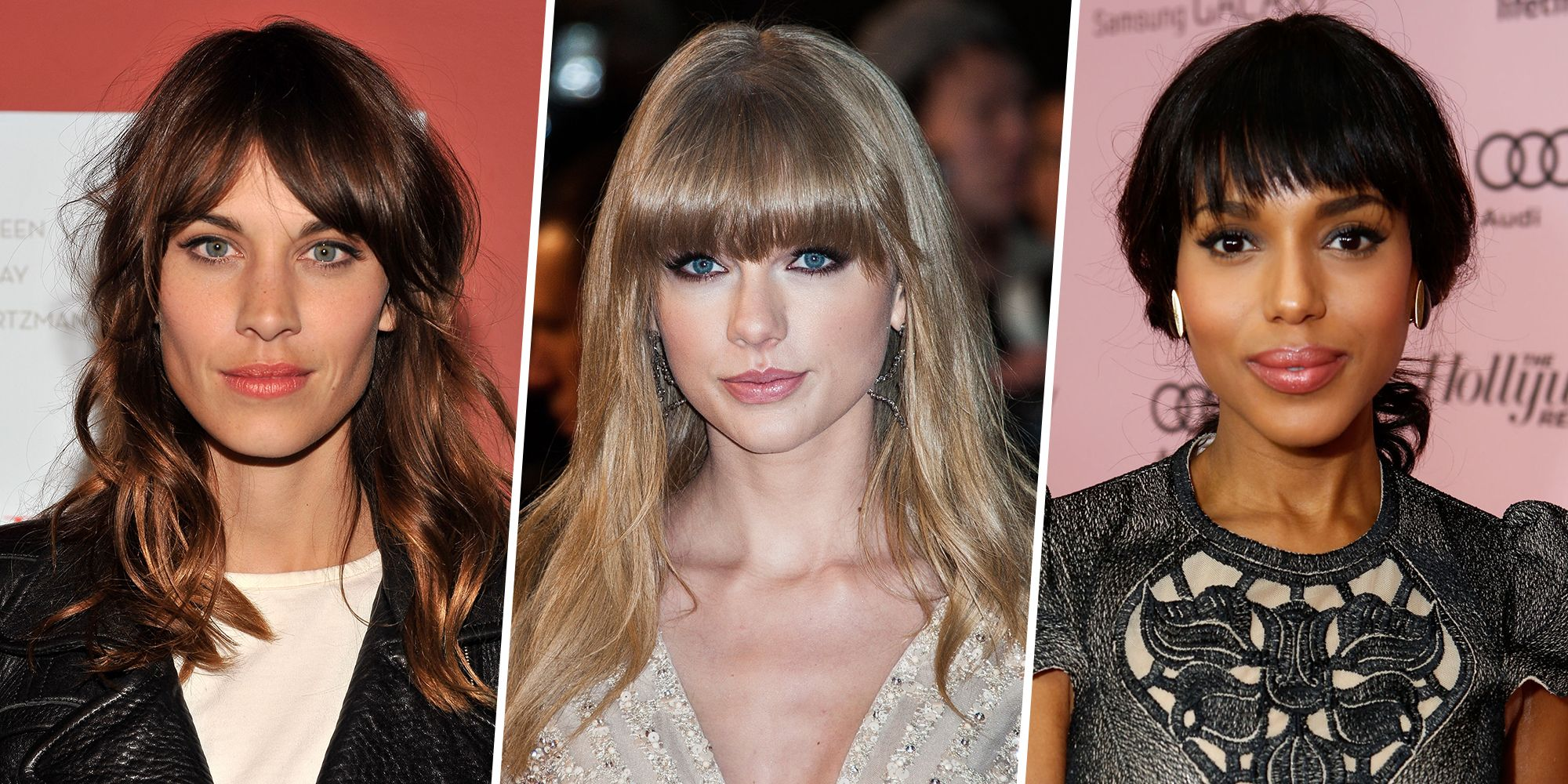 12 Long Hairstyles with Bangs - Best Celebrity Long Hair with