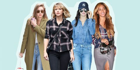 Clothing, Eyewear, Vision care, Glasses, Sleeve, Denim, Trousers, Textile, Shirt, Cap,