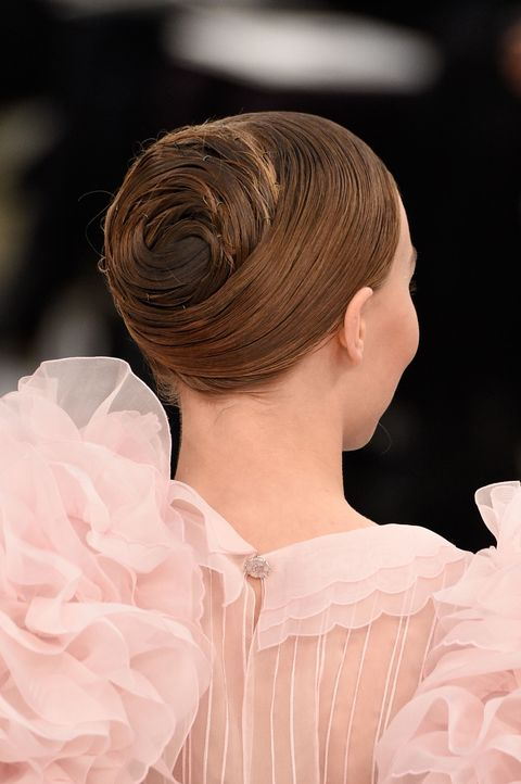 "<p>Apologies to Sam McKnight and his creation&nbsp;for Chanel couture, even though it definitely does resemble the rump end of a really well-laminated pain au chocolat. Very into the the idea of an extremely done, extremely epic up-do, because if not on your big day, then when? Just no prom ringlets, please.&nbsp;&nbsp;<span class=""redactor-invisible-space"" data-verified=""redactor"" data-redactor-tag=""span"" data-redactor-class=""redactor-invisible-space""></span></p>"