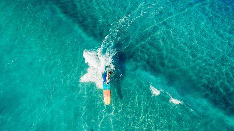 Sanuk Surfer, Kiana Fores, in Hanalei Bay