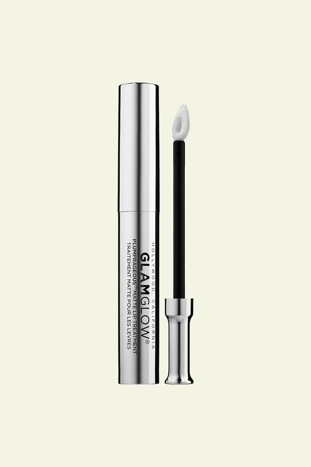 """<p>If you prefer a non-shiny finish, this matte lip primer has a triple plumping complex with potent botanical actives to create an amped-up lipcanvas.</p><p>GlamGlow Plumprageous Matte Lip Treatment,$24; <a href=""""http://bit.ly/2kXwA7J"""" target=""""_blank"""" data-tracking-id=""""recirc-text-link"""">sephora.com</a>.</p>"""