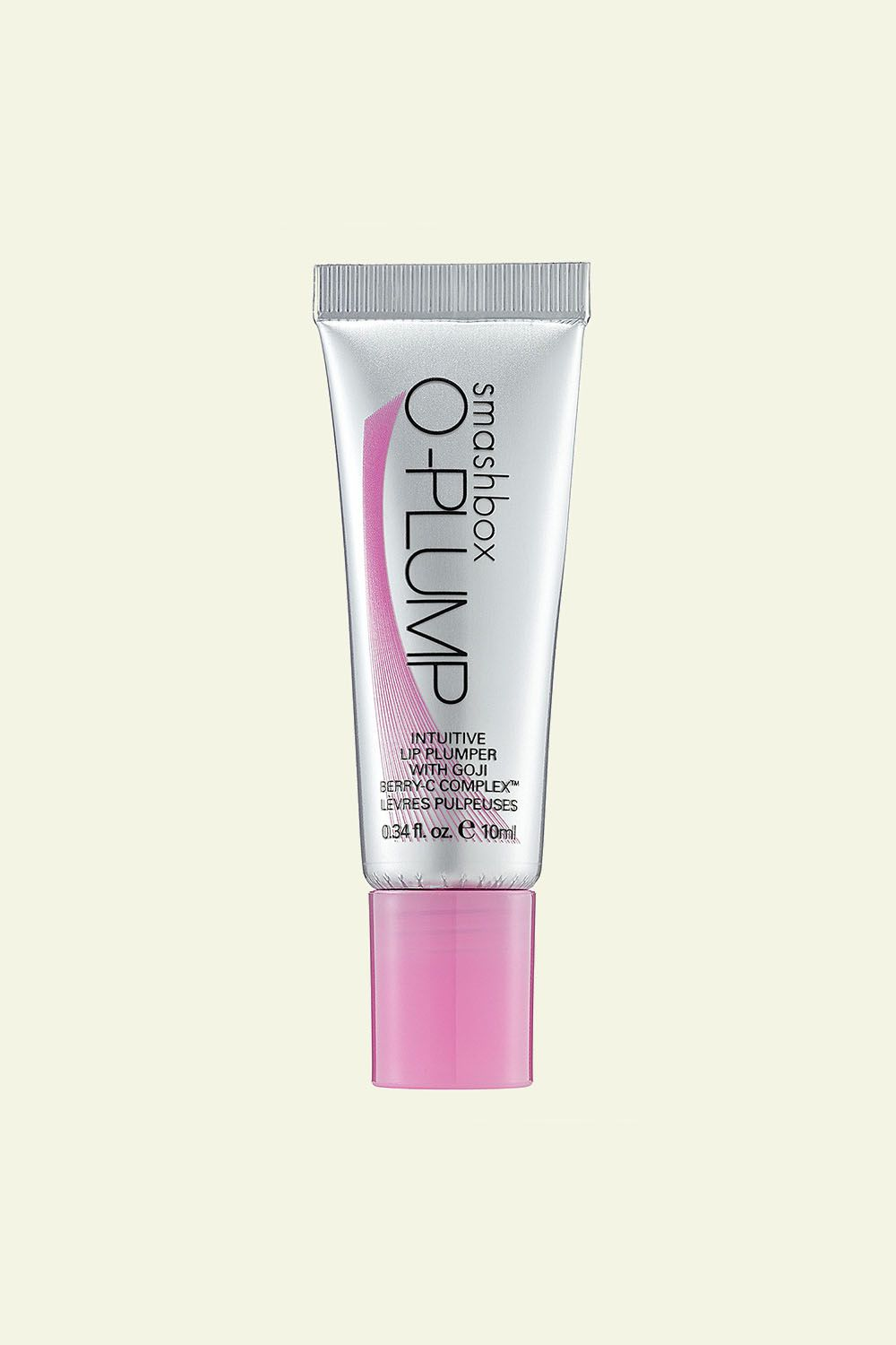 """<p>This plumping treatment resets lips with marine botanicals and avocado oil while reacting to your natural pH to create acustom shade of pink.<span class=""""redactor-invisible-space"""" data-verified=""""redactor"""" data-redactor-tag=""""span"""" data-redactor-class=""""redactor-invisible-space""""></span></p><p><span class=""""redactor-invisible-space"""" data-verified=""""redactor"""" data-redactor-tag=""""span"""" data-redactor-class=""""redactor-invisible-space""""><br> Smashbox O-PLUMP Intuitive Lip Plumper With Goji Berry-C Complex, <a href=""""http://bit.ly/2kXjfwi"""" target=""""_blank"""" data-tracking-id=""""recirc-text-link"""">$26; sephora.com</a>.<span class=""""redactor-invisible-space"""" data-verified=""""redactor"""" data-redactor-tag=""""span"""" data-redactor-class=""""redactor-invisible-space""""></span><br></span></p>"""