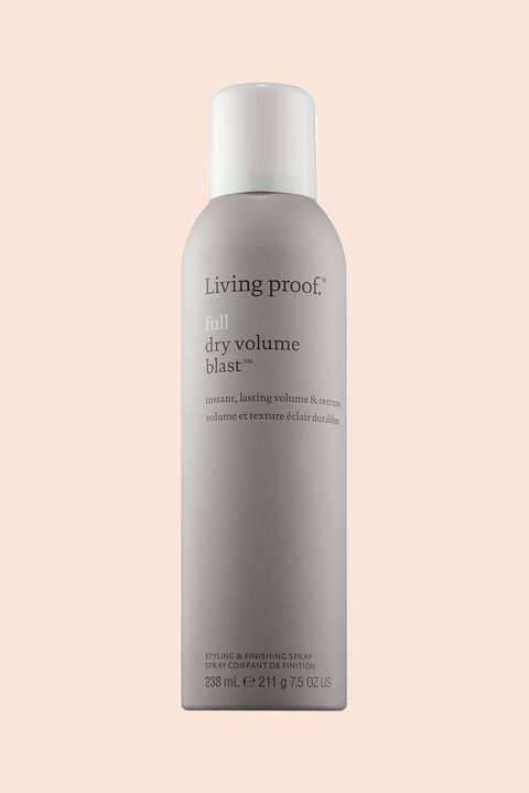 """<p>Dry shampoo is a texturizer just as much as it's a waterless cleanser.&nbsp;To amp up pin-straight strands, look to a volumizing formula that won't weight hair down. This spray from Living Proof has special molecules that are lighter and bigger than industry standard ingredients for that extra zhoosh.</p><p>Living Proof Full Dry Volume Blast, $29; <a href=""""http://bit.ly/2kLSj2l"""" target=""""_blank"""" data-tracking-id=""""recirc-text-link"""">ulta.com</a>.</p>"""