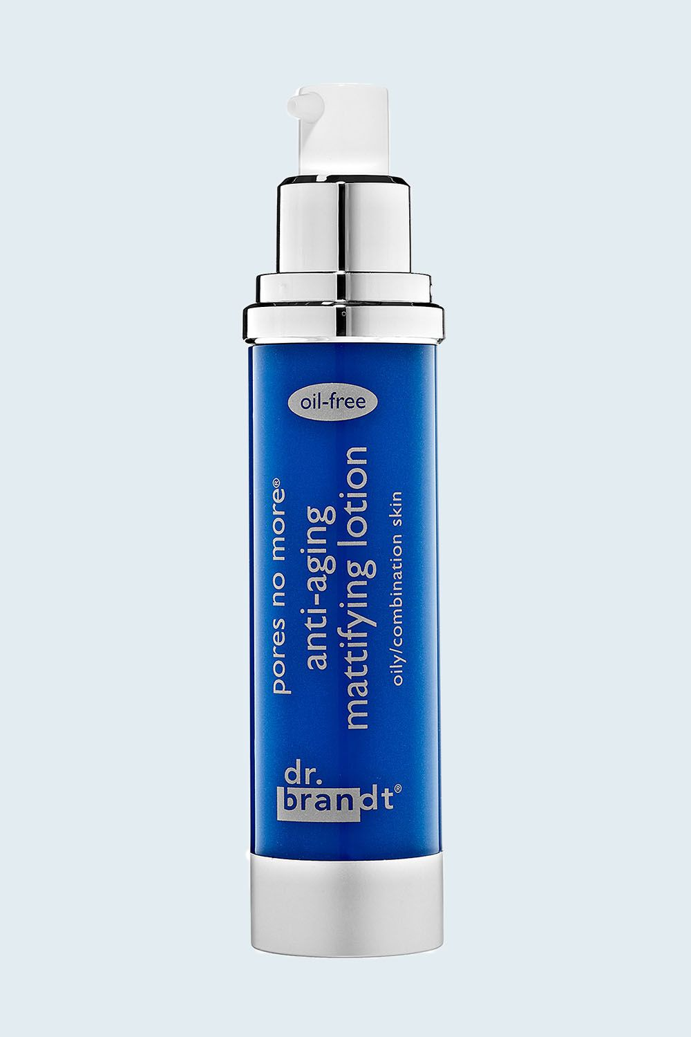 """<p>If you prefer a lotion to a gel cream—<span class=""""redactor-invisible-space"""" data-verified=""""redactor"""" data-redactor-tag=""""span"""" data-redactor-class=""""redactor-invisible-space""""></span>or anti-aging is top of mind for your skincare routine—<span class=""""redactor-invisible-space"""" data-verified=""""redactor"""" data-redactor-tag=""""span"""" data-redactor-class=""""redactor-invisible-space""""></span>this fast-absorbing formula reduces the appearance of fine lines and wrinkles while sopping up excess oil.</p><p><span class=""""redactor-invisible-space"""" data-verified=""""redactor"""" data-redactor-tag=""""span"""" data-redactor-class=""""redactor-invisible-space"""">Dr. Brandt Skincare pores no more anti-aging mattifying lotion, $61&#x3B; <a href=""""http://bit.ly/2lhaUAn"""" target=""""_blank"""" data-tracking-id=""""recirc-text-link"""">sephora.com</a>.<span class=""""redactor-invisible-space"""" data-verified=""""redactor"""" data-redactor-tag=""""span"""" data-redactor-class=""""redactor-invisible-space""""></span><br></span></p>"""
