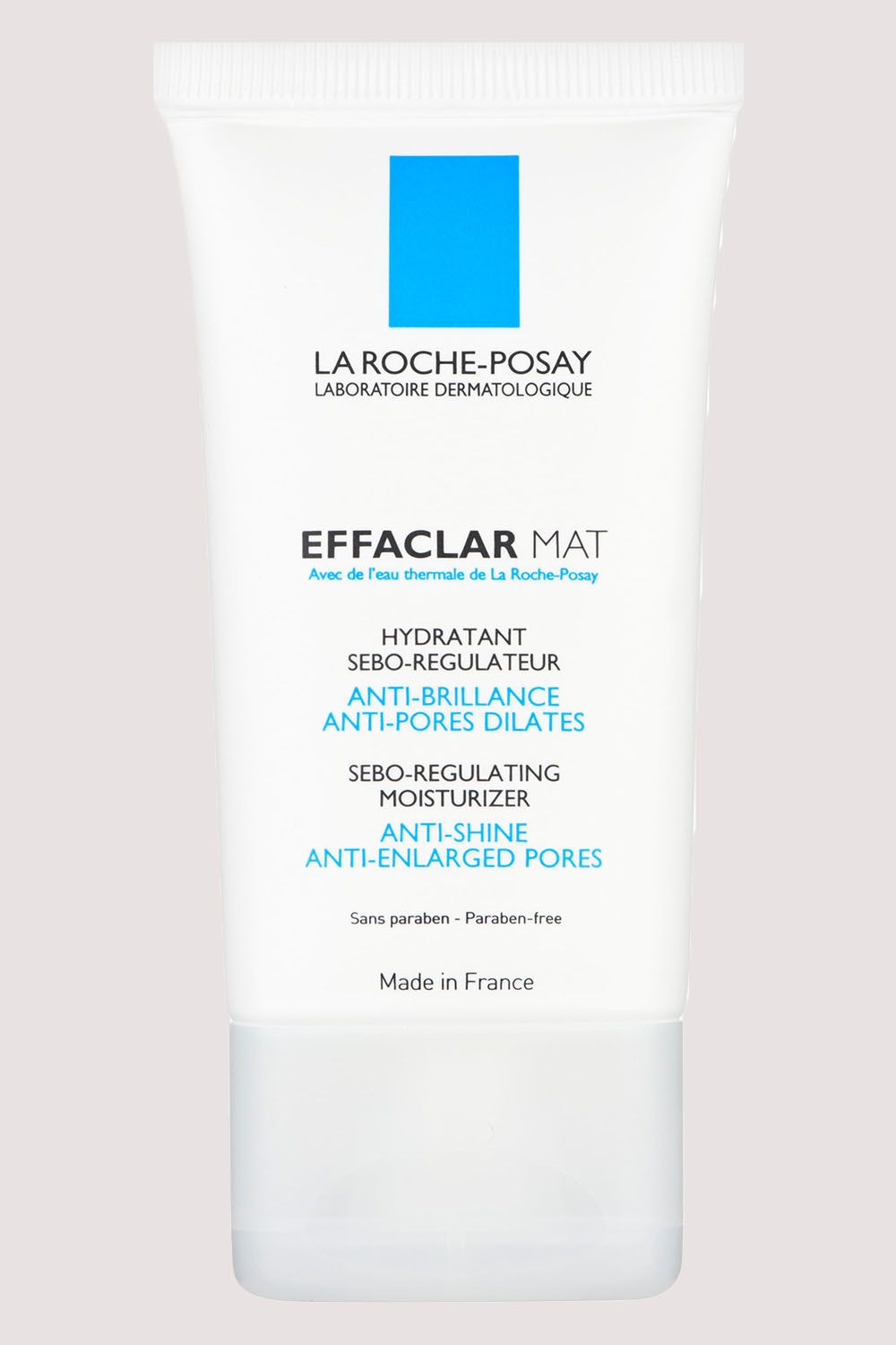 """<p>The secret sauce in this French mattifyer is its """"Sebulyse"""" technology, which absorbs oil <em data-redactor-tag=""""em"""" data-verified=""""redactor"""">while</em> tightening pores.&nbsp&#x3B;</p><p><span class=""""redactor-invisible-space"""" data-verified=""""redactor"""" data-redactor-tag=""""span"""" data-redactor-class=""""redactor-invisible-space"""">La Roche-Posay Effaclar Oil-Free Mattifying Moisturizer, $31.99&#x3B; <a href=""""http://bit.ly/2kLCj0w"""" target=""""_blank"""" data-tracking-id=""""recirc-text-link"""">ultra.com</a>.<span class=""""redactor-invisible-space"""" data-verified=""""redactor"""" data-redactor-tag=""""span"""" data-redactor-class=""""redactor-invisible-space""""></span><br></span></p>"""