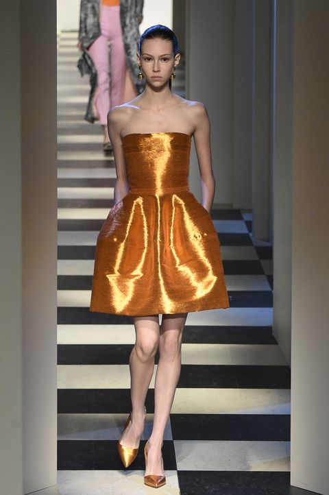 <p>A metallic Creamsicle&nbsp;dream.&nbsp;</p>