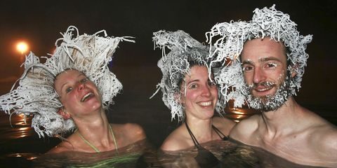 Hair-Freezing Competitions Exist and Look *Insane*