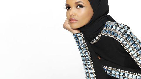 Eyelash, Fashion, Eye liner, Fashion model, Body jewelry, Model, Makeover, Wrap, Stole, Shawl,