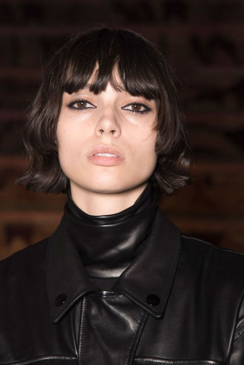 <p>Whether you've been out partying all night or not, you want your eyeliner to look like it. At Alexander Wang, Diane Kendal for NARS smudged kohl eyeliner between the upper and lower lashes, as well as on the waterlines for maximum impact. </p>