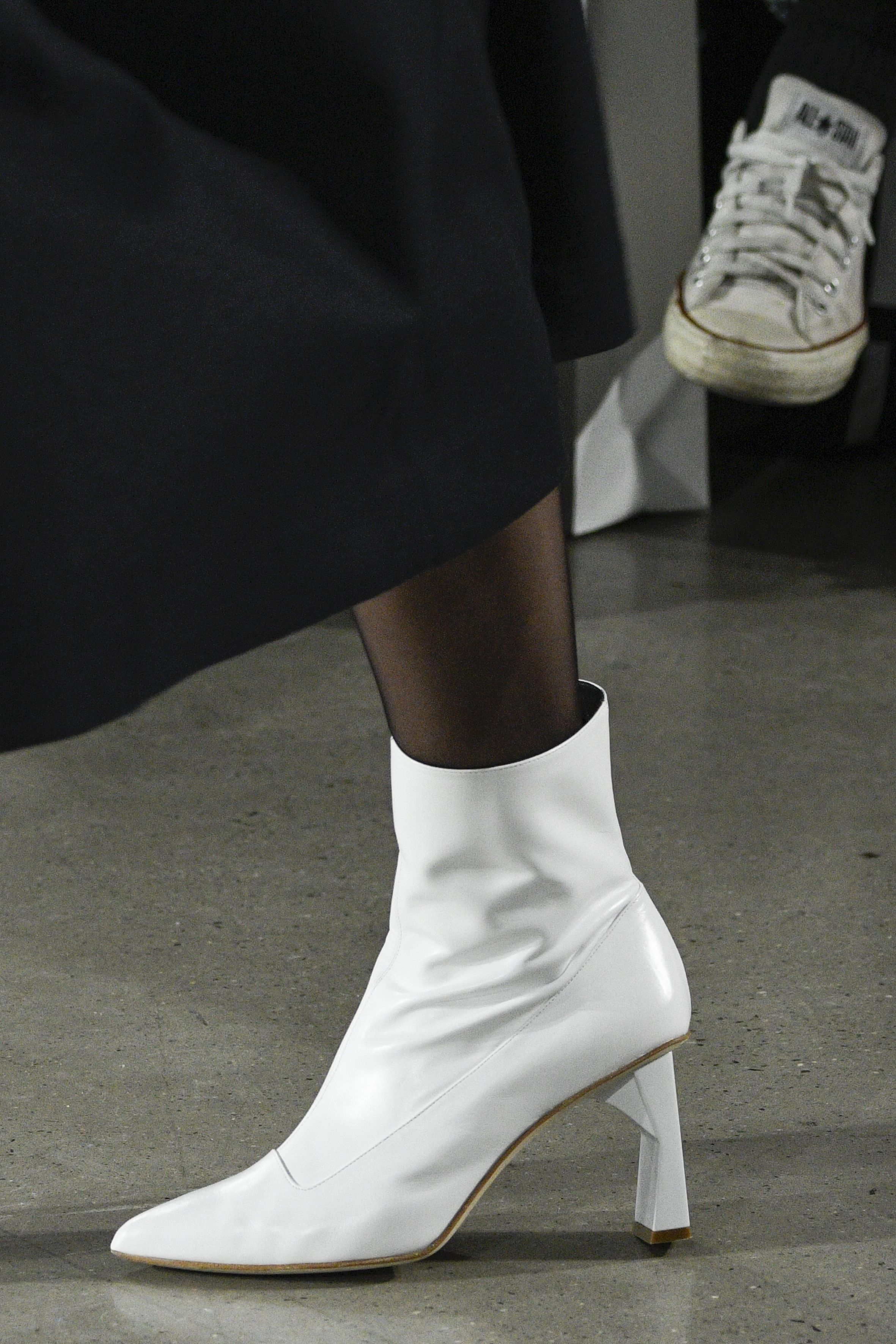 """<p>You know how we said <a href=""""http://www.marieclaire.com/fashion/news/g4070/best-white-boots/"""" target=""""_blank"""" data-tracking-id=""""recirc-text-link"""">everybody needswhite boots</a>? Make that """"white boots with a carved heel.""""</p>"""