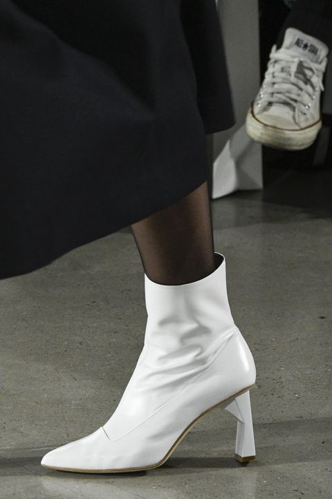 "<p>You know how we said <a href=""http://www.marieclaire.com/fashion/news/g4070/best-white-boots/"" target=""_blank"" data-tracking-id=""recirc-text-link"">everybody needs&nbsp;white boots</a>? Make that ""white boots with a carved heel.""</p>"