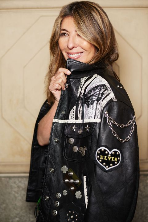 "<p>No cool girl's wardrobe is complete without a statement-making leather jacket. ""I'm obsessed with this! The edgy studs and rock 'n' roll pins make it feel special,"" says Garcia. Look for one with unique embellishments—or personalize a jacket you already own with fun D.I.Y. touches, like of-the-moment  patches. One jacket styling trick in every editor's arsenal? The casual over-the-shoulder drape. Sling it on like a cape for instant, effortless chic. <em data-redactor-tag=""em"" data-verified=""redactor"">Coach Customized Mens Jacket, $2200, <a href=""http://www.coach.com/shop/women-coach1941-new-arrivals?CID=D_B_MRC_12404"" target=""_blank"" data-tracking-id=""recirc-text-link"">coach.com</a></em></p>"
