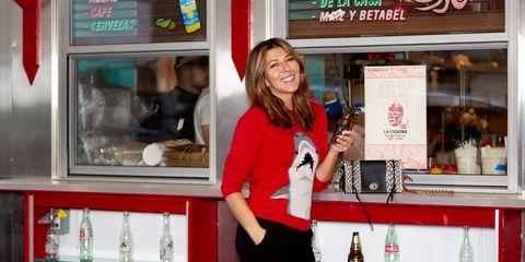 Bottle, Drink, Signage, Plastic bottle, Display case, Transparent material, Retail, Advertising, Distilled beverage, Customer,