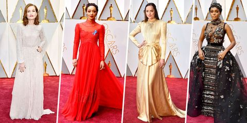 Clothing, Dress, Textile, Red, Formal wear, Flooring, Style, Gown, One-piece garment, Fashion,