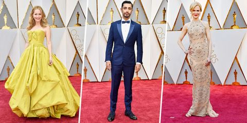 The 10 Best Dressed Stars at the 2017 Oscars