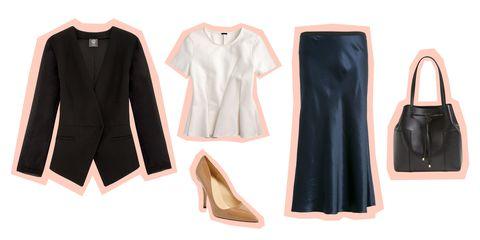 Clothing, Black, Footwear, Pink, Outerwear, Fashion, Sleeve, Dress, Leather, Shoe,