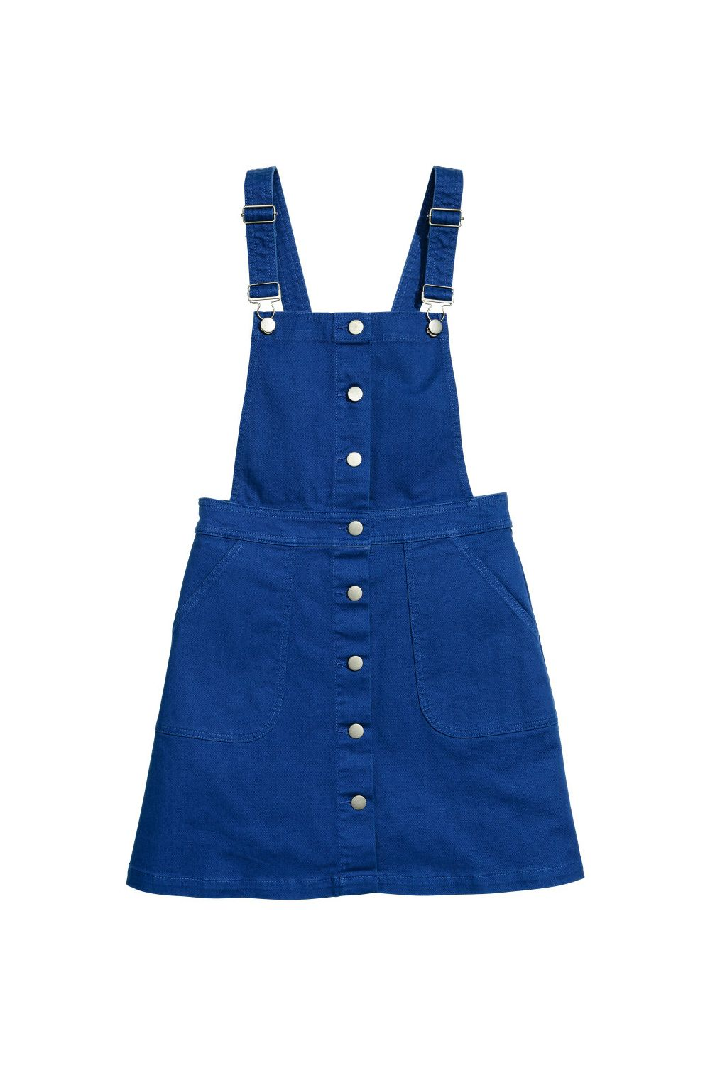 """<p>The classic jean overall dress re-purposes the trouser version into a more modern version with greater breeze potential (here's looking at you, spring). It's ideal forpairingwith casualwhite tees and button-up shirtsor even cropped tops à<span class=""""redactor-invisible-space"""" data-verified=""""redactor"""" data-redactor-tag=""""span"""" data-redactor-class=""""redactor-invisible-space""""></span> la <a href=""""http://www.whowhatwear.com/what-was-she-wearing-taylor-swift-overalls-and-crop-top-2015"""" target=""""_blank"""" data-tracking-id=""""recirc-text-link"""">Taylor Swift</a>.</p><p><strong data-redactor-tag=""""strong"""">Bib Overall Dress, $35;<a href=""""http://www.hm.com/us/product/54109?gclid=CjwKEAiArbrFBRDL4Oiz97GP2nISJAAmJMFa511opmDEZ2QSSQYLCR85ns0eW8kCNBCuTDZfeLZXhBoC9Fjw_wcB&article=54109-B&cm_mmc=pla-_-us-_-ladies_skirts_short-_-54109&s_kwcid=AL!860!3!46030674837!!!g!113711425077!&ef_id=VvA1BQAAALtJs0Co:20170223173121:s"""" target=""""_blank"""" data-tracking-id=""""recirc-text-link"""">hm.com</a>.</strong><span class=""""redactor-invisible-space"""" data-verified=""""redactor"""" data-redactor-tag=""""span"""" data-redactor-class=""""redactor-invisible-space""""></span><br></p>"""