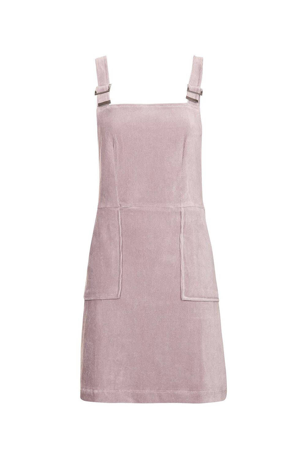 """<p>Ditto for this cotton candy pink *velvet* version. Pair it with <a href=""""http://www.marieclaire.com/fashion/news/g4061/socks-with-sandals-really/"""" target=""""_blank"""" data-tracking-id=""""recirc-text-link"""">high socks and sandals</a> for an extra street-style kick.</p><p><strong data-redactor-tag=""""strong"""">Cord Velvet Pinafore Dress, $58;<a href=""""http://us.topshop.com/en/tsus/product/cord-velvet-pinafor-dress-6121589?geoip=noredirect&cmpid=ppc_pla_US_ip&istCompanyId=da794a11-99cb-4206-8e52-61037452aeeb&istItemId=xwawiitrwt&istBid=tztx&gclid=CjwKEAiArbrFBRDL4Oiz97GP2nISJAAmJMFafhzIh4i20iDpOi-I8x1vuTk7ieNE06yQ0k_GrTAtzxoCafzw_wcB"""" target=""""_blank"""" data-tracking-id=""""recirc-text-link"""">topshop.com</a>.</strong><span class=""""redactor-invisible-space"""" data-verified=""""redactor"""" data-redactor-tag=""""span"""" data-redactor-class=""""redactor-invisible-space""""></span><br></p>"""