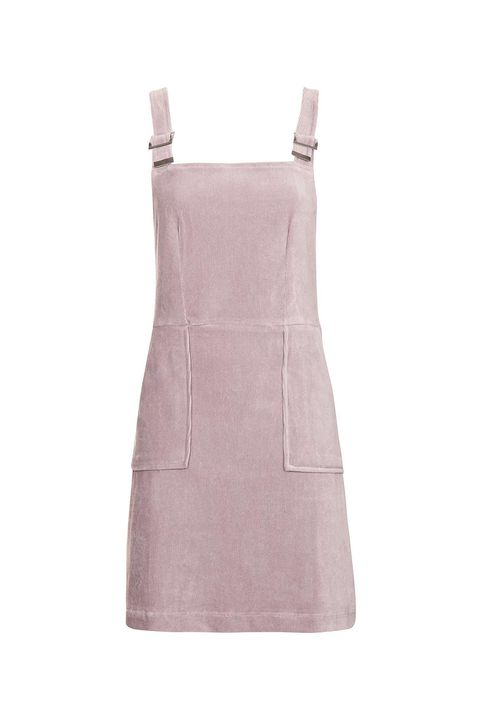 """<p>Ditto for this cotton candy pink *velvet* version. Pair it with <a href=""""http://www.marieclaire.com/fashion/news/g4061/socks-with-sandals-really/"""" target=""""_blank"""" data-tracking-id=""""recirc-text-link"""">high socks and sandals</a> for an extra street-style kick.&nbsp;</p><p><strong data-redactor-tag=""""strong"""">Cord Velvet Pinafore Dress, $58;&nbsp;<a href=""""http://us.topshop.com/en/tsus/product/cord-velvet-pinafor-dress-6121589?geoip=noredirect&amp;cmpid=ppc_pla_US_ip&amp;istCompanyId=da794a11-99cb-4206-8e52-61037452aeeb&amp;istItemId=xwawiitrwt&amp;istBid=tztx&amp;gclid=CjwKEAiArbrFBRDL4Oiz97GP2nISJAAmJMFafhzIh4i20iDpOi-I8x1vuTk7ieNE06yQ0k_GrTAtzxoCafzw_wcB"""" target=""""_blank"""" data-tracking-id=""""recirc-text-link"""">topshop.com</a>.</strong><span class=""""redactor-invisible-space"""" data-verified=""""redactor"""" data-redactor-tag=""""span"""" data-redactor-class=""""redactor-invisible-space""""></span><br></p>"""