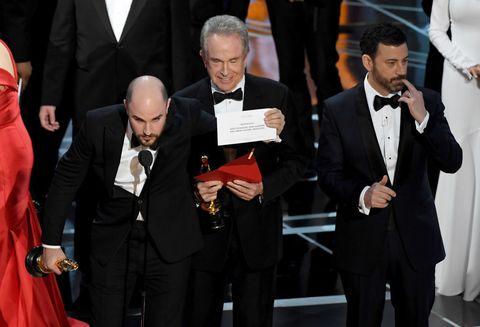 Oscars 2017 Best Picture announcement
