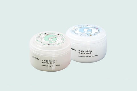 "<p>Nighttime is the perfect time to double down on your masks treatments, and Glossier's mask duo is basically the Gigi-and-Zayn&nbsp&#x3B;of the skincare world—<span class=""redactor-invisible-space"" data-verified=""redactor"" data-redactor-tag=""span"" data-redactor-class=""redactor-invisible-space"">AKA young, cool, and supremely good at what they do</span>. The Mega Greens Galaxy Pack is basically an expedited juice cleanse for your face, drawing out impurities and fortifying with super nutrients, while the rich Moon Mask will ensure your skin is bouncy and glowy when you wake up.</p><p>Glossier Mega Greens Galaxy Pack and Moisturizing Moon Mask<span class=""redactor-invisible-space"" data-verified=""redactor"" data-redactor-tag=""span"" data-redactor-class=""redactor-invisible-space""> Duo, $40&#x3B; <a href=""https://www.glossier.com/products/mask-duo"" target=""_blank"" data-tracking-id=""recirc-text-link"">glossier.com</a>.</span><br></p>"