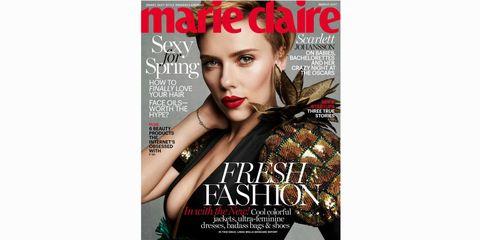 Lip, Hairstyle, Eyebrow, Eyelash, Font, Beauty, Advertising, Magazine, Poster, Fashion model,