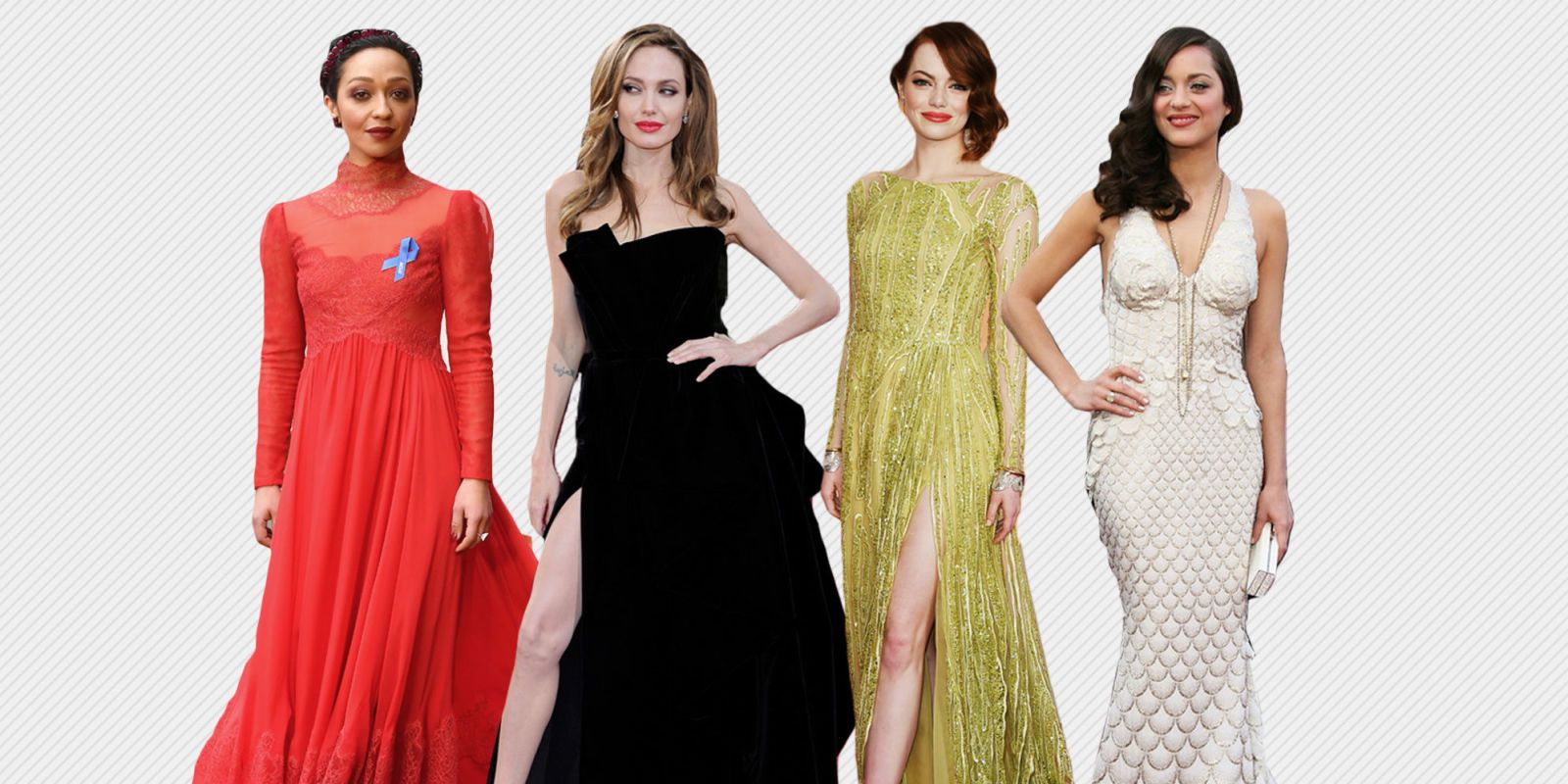 Vintage Hollywood Style Evening Dresses Short