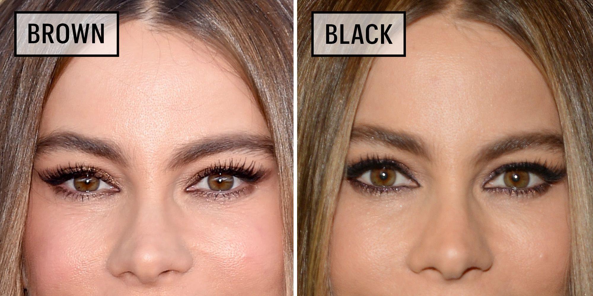 Brown Eyeliner Vs Black Eyeliner Asian