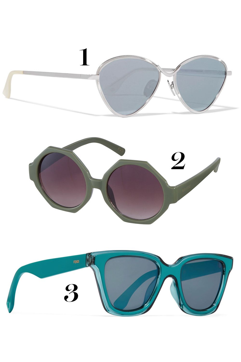 759fe1e676 12 Best Sunglasses for Every Face Shape - How to Choose the Right Frames  for Your Face