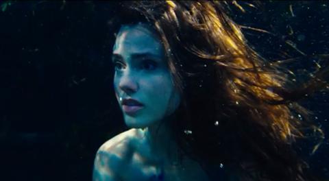 Poppy Drayton in The Little Mermaid
