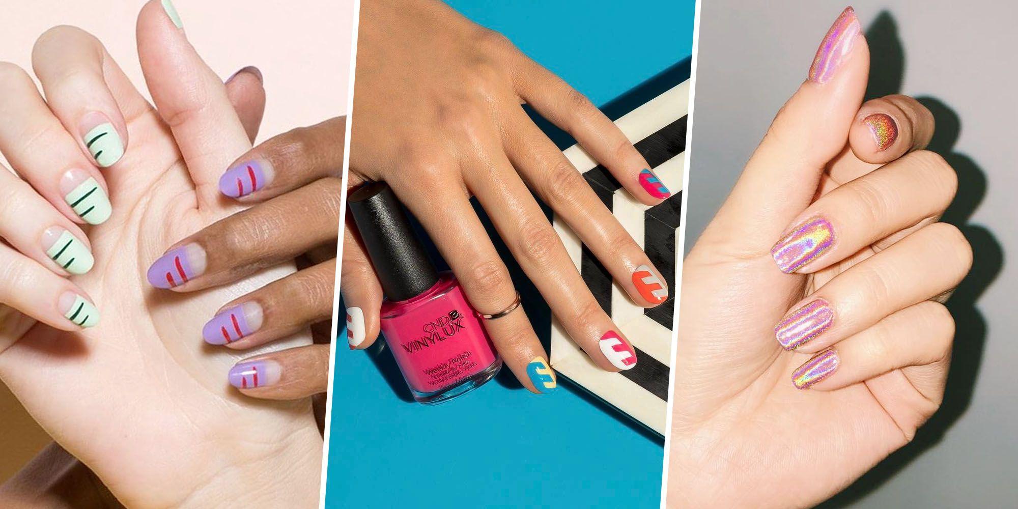 16 Creative Summer Nail Designs - 2017 Summer Nail Art Trends