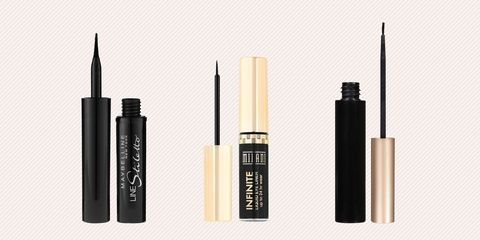 Cosmetics, Product, Eye liner, Beauty, Brown, Eye, Mascara, Material property, Liquid, Eye shadow,