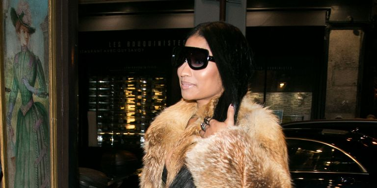 Nicki minaj rocks ankle length hair extensions and yes she filmed a gorgeous video of them in action pmusecretfo Choice Image