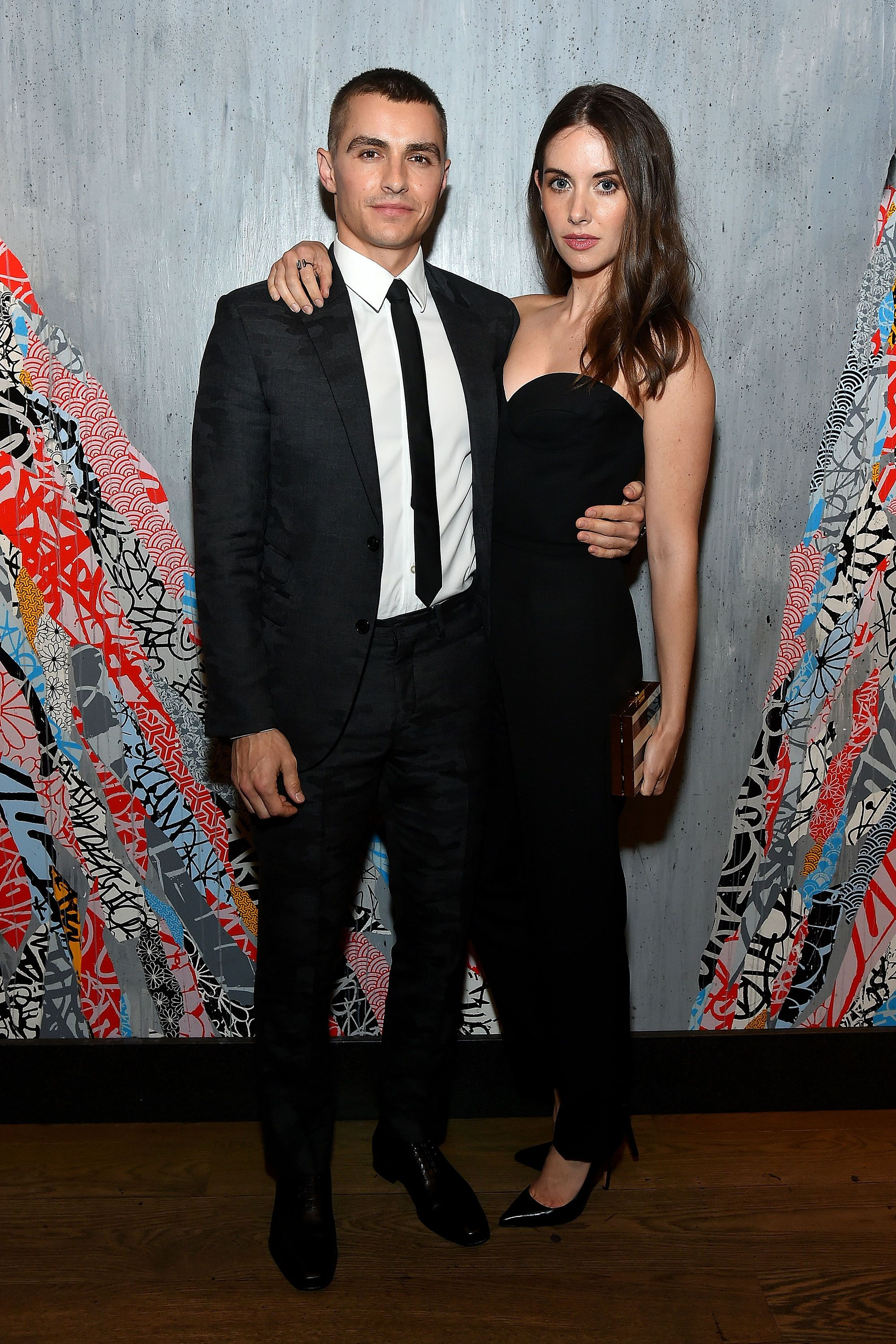 How long has dave franco and alison brie been dating for a month