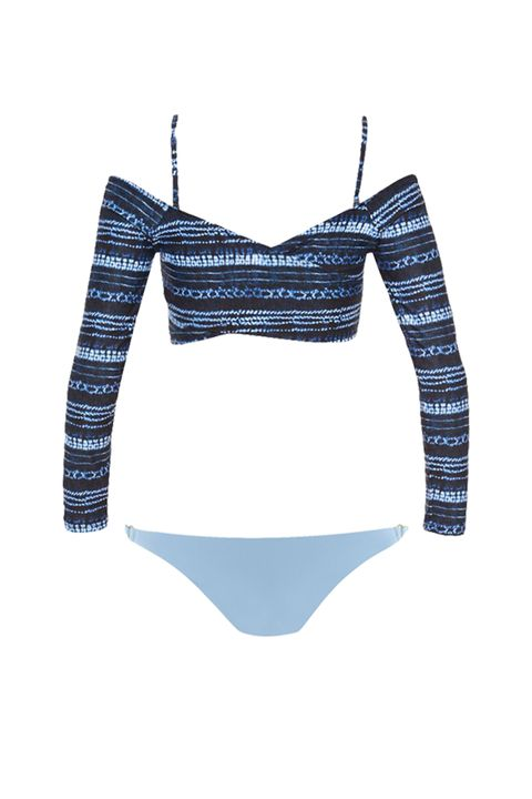 "<p>Another IRL-fashion-inspired lewk that emphasizes a body part most of us are weirdly proud of.&nbsp;</p><p>Top, $125, <a href=""https://www.lspace.com/collections/swim/products/midnight-caravan-callie-top-itsy-bottom"" target=""_blank"" data-tracking-id=""recirc-text-link"">lspace.com</a>; bottoms, $84, <a href=""https://www.lspace.com/products/bowie-wrap-swim-top-redondo-bottom"" target=""_blank"" data-tracking-id=""recirc-text-link"">lspace.com</a>.</p>"