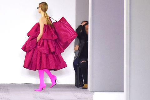 Sleeve, Standing, Magenta, Pink, One-piece garment, Purple, Dress, Fashion, Violet, Day dress,